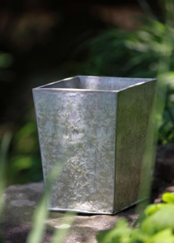 [雪の華]亜鉛結晶釉花器