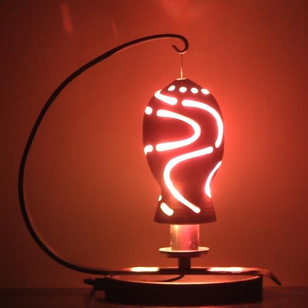 釉象嵌灯りとり(2)