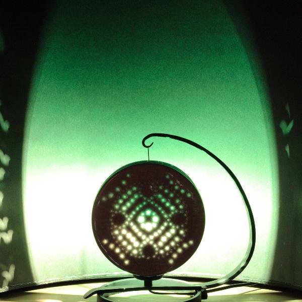 釉象嵌灯りとり